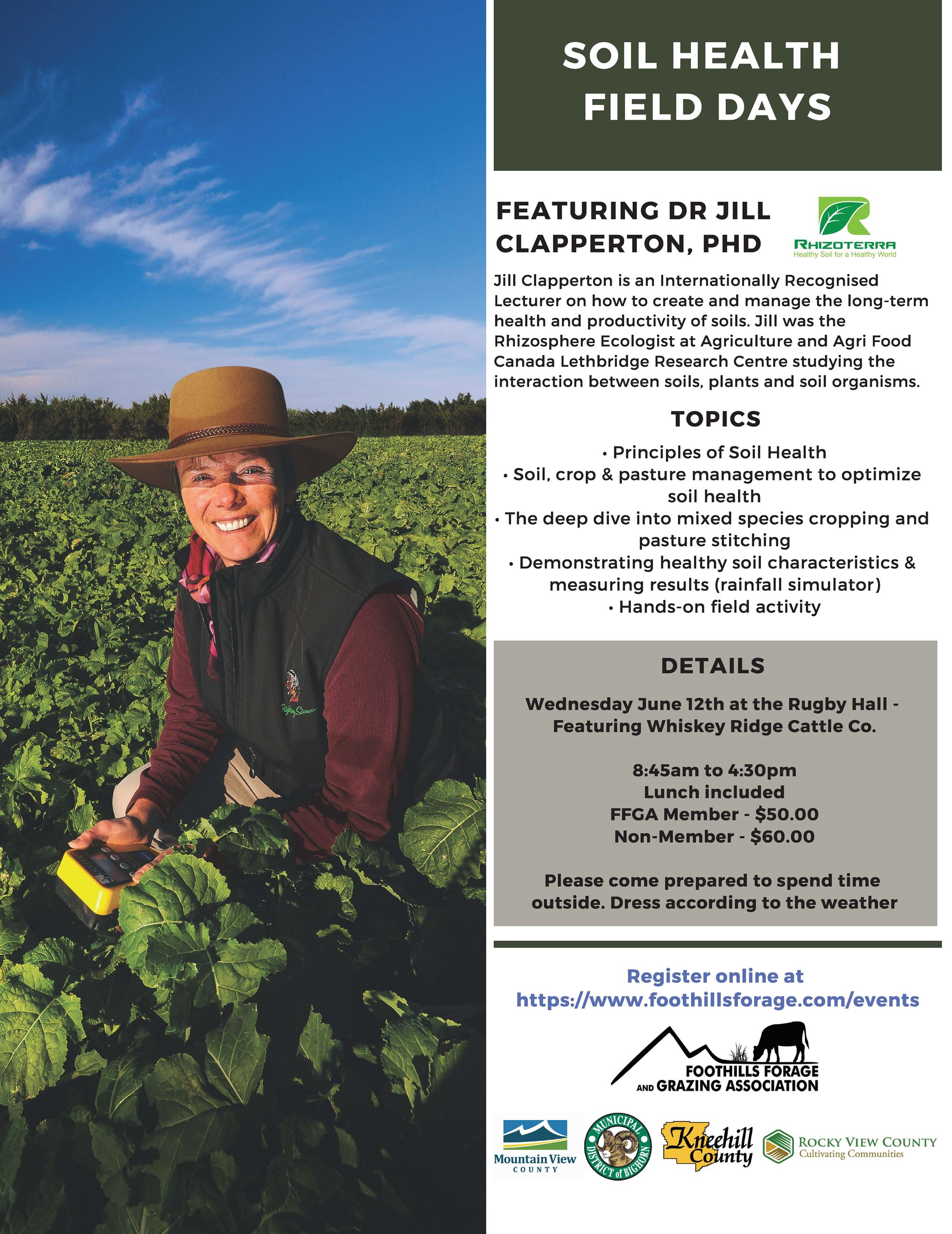 Soil Health Field Day North