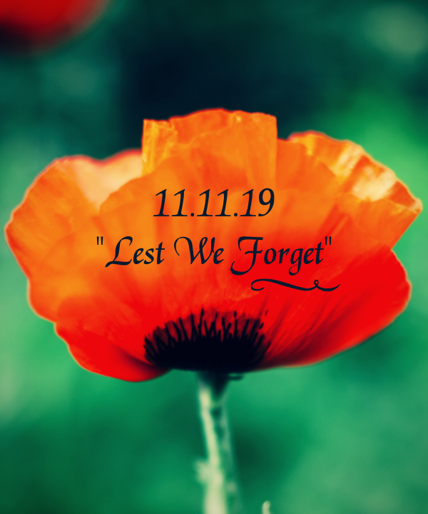 The Kneehill County office will be closed Monday, November 11, 2019, for Remembrance Day.