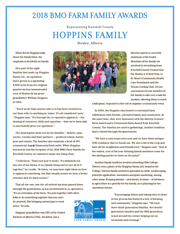 Hoppins Family