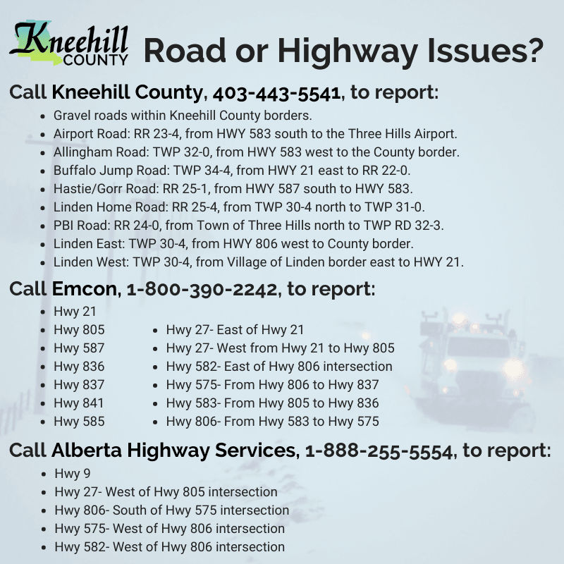 Report Highway Concerns
